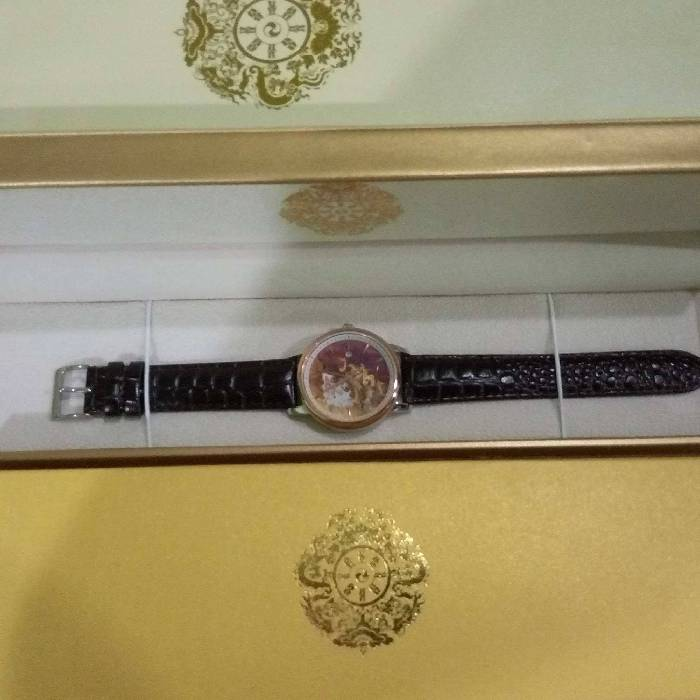 Watches from king of Bhutan